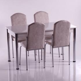 Platin Mutfak Masa Sandalye Takımı