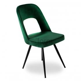 Venüs Kumaş Döşeme Salon Sandalye - Haki yeşil
