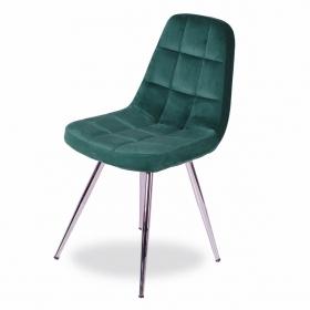 Mars Kumaş Döşeme Salon Sandalye - Haki yeşil