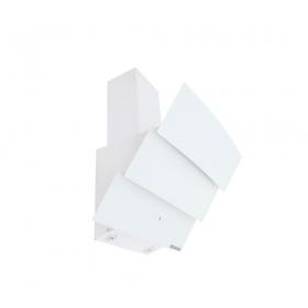 Ukinox Vega Cam Davlumbaz Beyaz 60 Cm