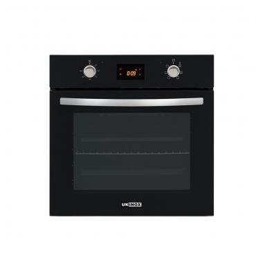 Ukinox Nova Modern Touch Siyah Cam Ankastre Fırın