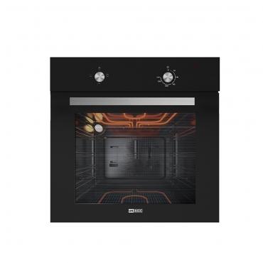 Ukinox Crown Siyah Cam Ankastre Fırın