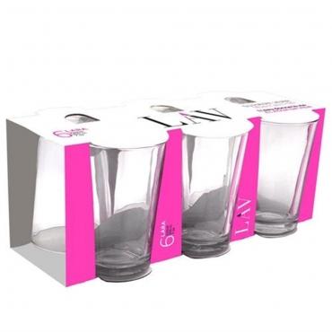 LAV LARA 6'lı Su Bardağı 205mL
