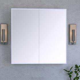 Aynalı Kapaklı Banyo Dolabı 70cm