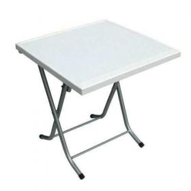 Katlanır Metal Ayaklı Çalışma Masası 60x60