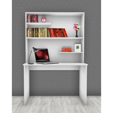 Kitaplıklı Bilgisayar Masası 48x90cm