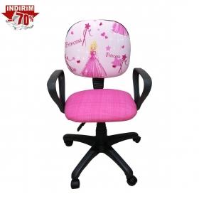 Amartisörlü Tekerli Çalışma Sandalyesi Çocuk - Pembe