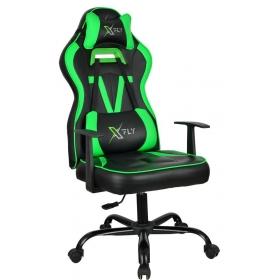 Profesyonel Oyuncu Koltuğu Çok Fonksiyonlu Yastıklı - Yeşil