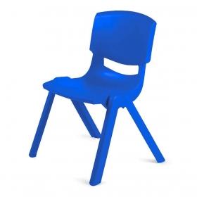 3-7 Yaş Polipropilen Plastik Çocuk Sandalyesi - Mavi