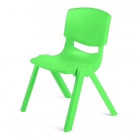 3-7 Yaş Polipropilen Plastik Çocuk Sandalyesi - Yeşil