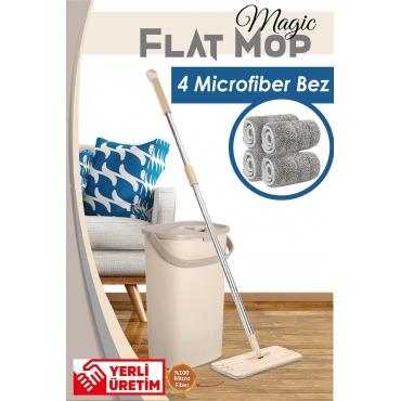 Magic Flat (Tablet) Mop Set 4 Microfiber