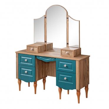 Açılır Kapanır Aynalı Şifonyer 6 Çekmeceli Renk Seçenekli