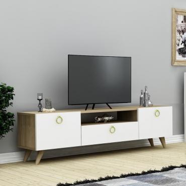 Halka Kulplu Şık TV Ünitesi 140cm
