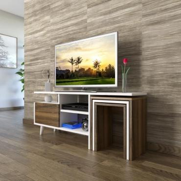 3'lü Zigon TV Sehpası Set Kullanışlı Ürün