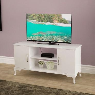 Lükens Ayaklı Çift Dolaplı TV Ünitesi 111cm