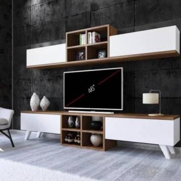 Duvar Modüllü TV Ünitesi 180cm