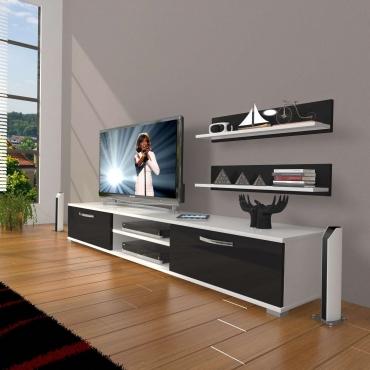 Raf Hediyeli TV Ünitesi Dolaplı 180cm
