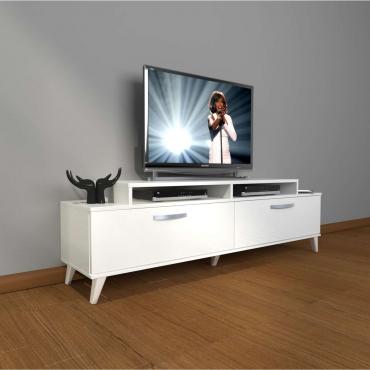 Oyun Konsolu Bölmeli TV Sehpası Dolaplı 180cm