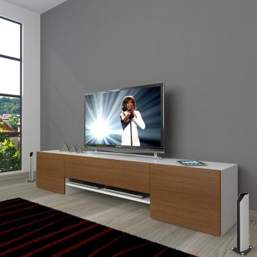 Kulpsuz Kapak Modern Tasarım Şık TV Ünitesi 180cm