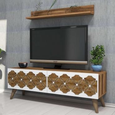 120cm Lüks TV Ünitesi Küçük Oda İçin