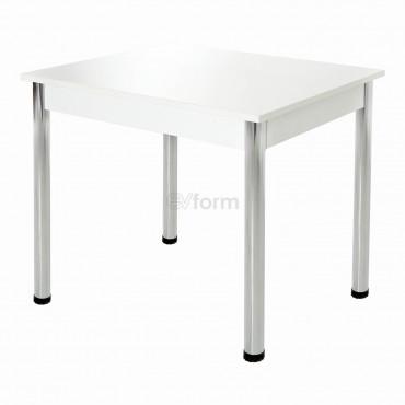 Yemek Mutfak Masası 90cm - Beyaz