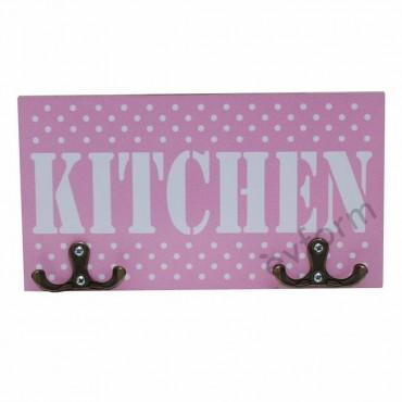 Kitchen Pembe Mutfak Havlu Askısı