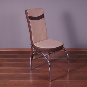 Roma Deri Döşeme Sandalye Kapuçino Kahve