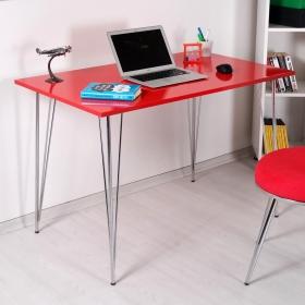 Amy Demir Ayaklı Modern Çalışma Masası