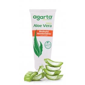 Agarta Doğal Aloe Vera Besleyici El Ve Vücut Kremi 75 Ml