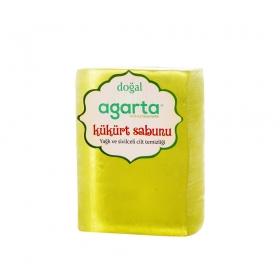 Agarta Kükürtlü Doğal El Yapımı Sabun 150 Gr