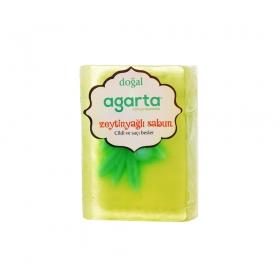 Agarta Zeytinyağlı Doğal El Yapımı Sabun 150 Gr