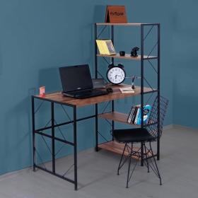Limba Metal Kitaplıklı Çalışma Masası