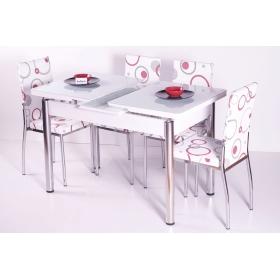 Mutfak Masası Takımı Masa Sandalye Yemek Masaları 4 Sandalyeli