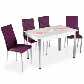 Favorite Mutfak 4 Sandalye Masa Takımı