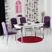 Minosa 4 Kadife Sandalye ve Masa Takımı