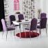 Minosa 6 Kadife Sandalye ve Masa Takımı