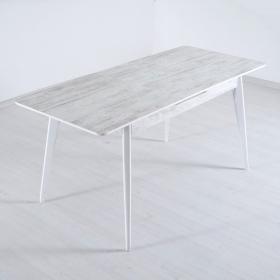 Sesso Beyaz Açılır Masa