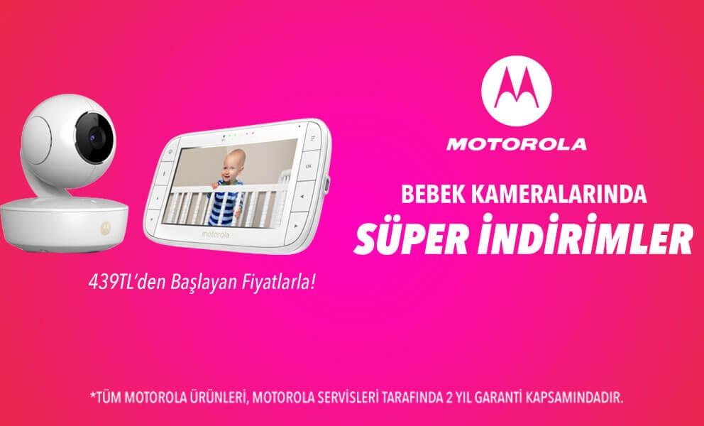 Motorola kameralarda süper indirimler!