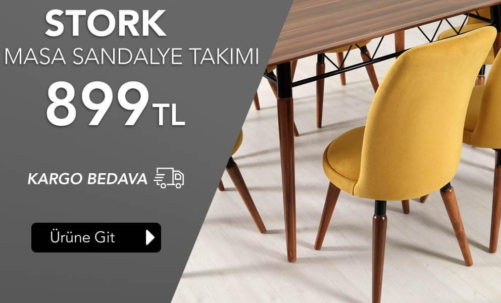 Stork masa sandalye takımı